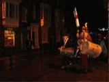 'Crying Christmas' with the City of Lincoln Waits, 2008 (photographed by Christine Hawley)