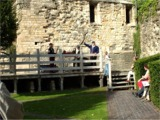 The City of Lincoln Waits at Lincoln's Medieval Bishops Palace
